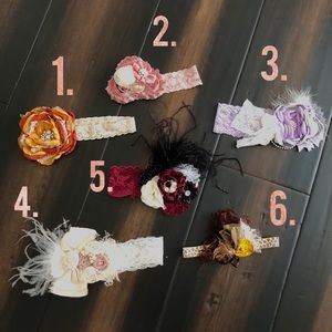 Other - Couture headbands 0-12mos